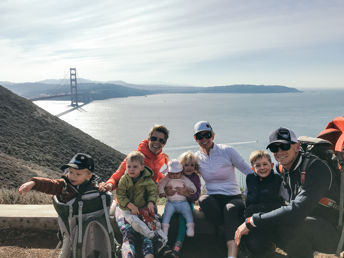 Golden Gate Family Hike nature san francisco family time mom style fit momma