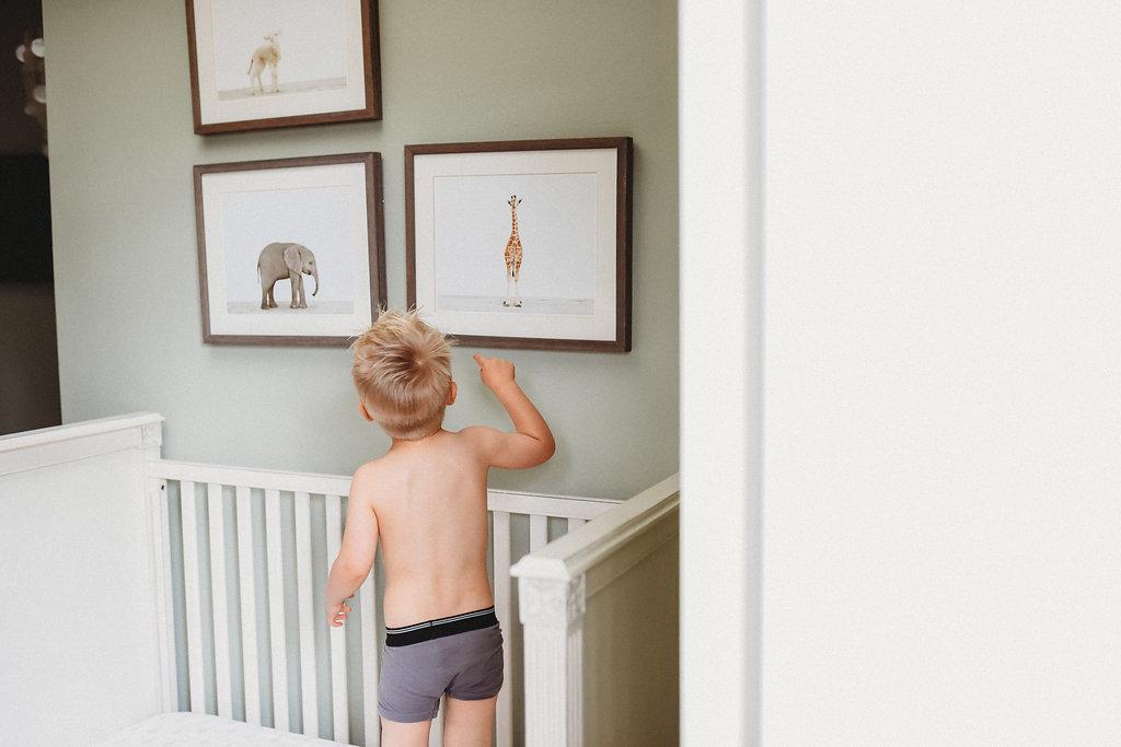Tudor Nursery baby room toddler nursery home decor interior design