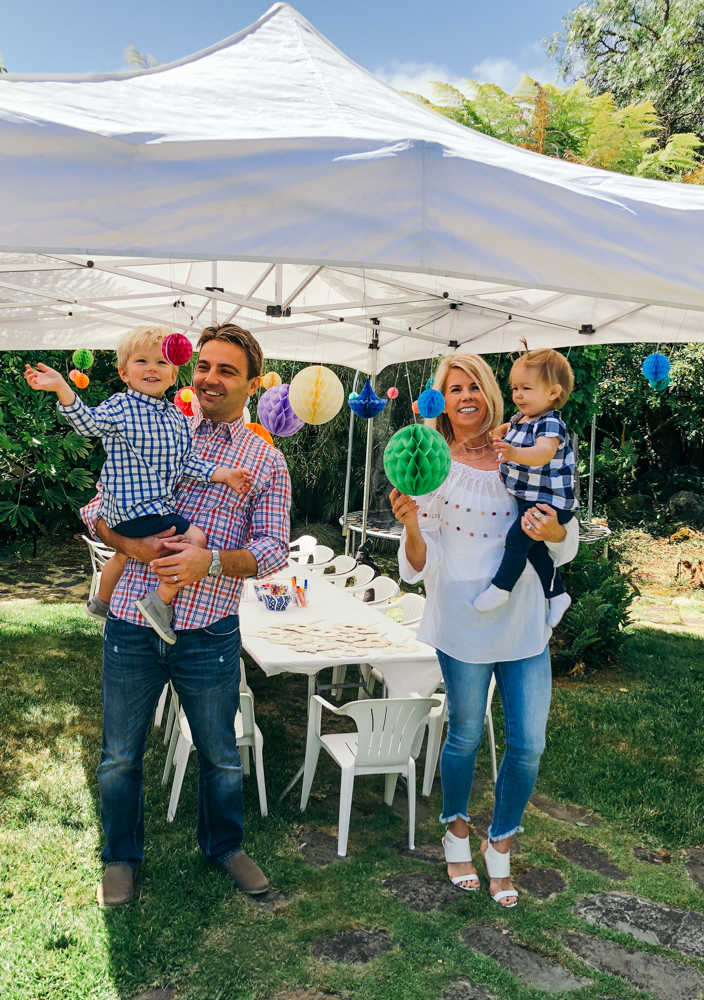 Tudor's 3rd birthday toddler birthday party family time quality time home decor