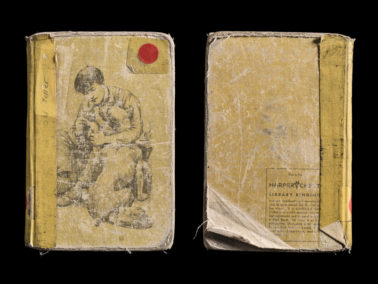 Old Yeller, Covers Front and Back