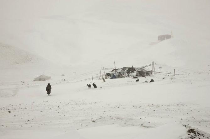 Larry K. Snider, Winter Storm in May, Tibet