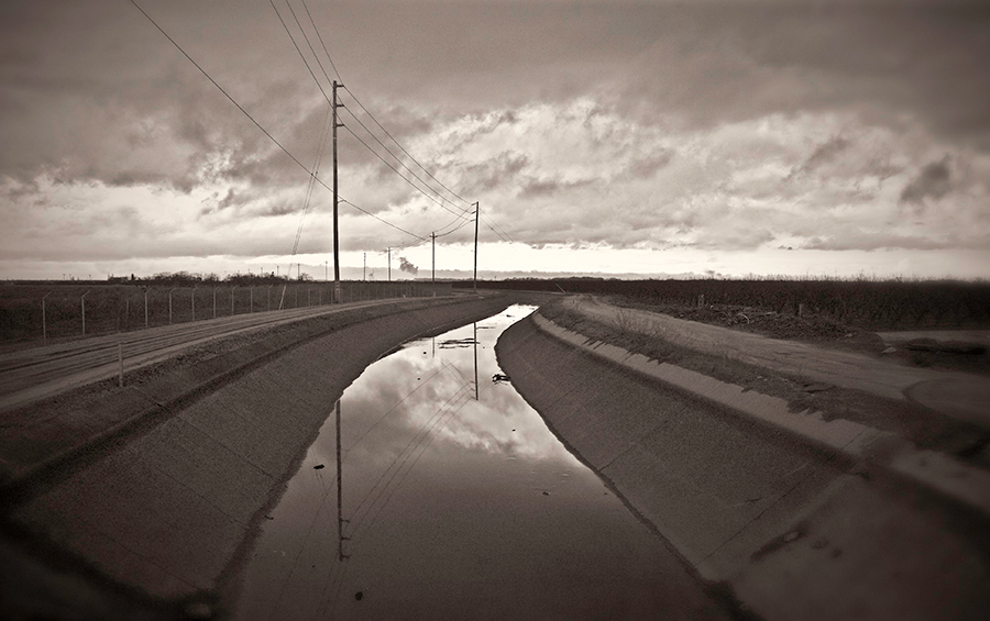 Irrigation Canal, February