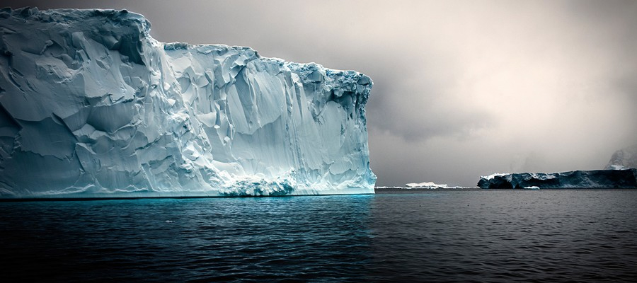 Tabular Iceberg Detail