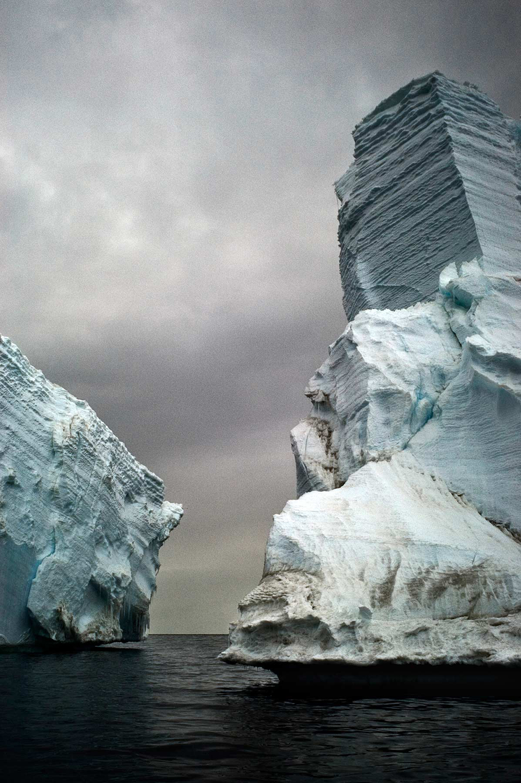 Stranded Icebergs, Detail