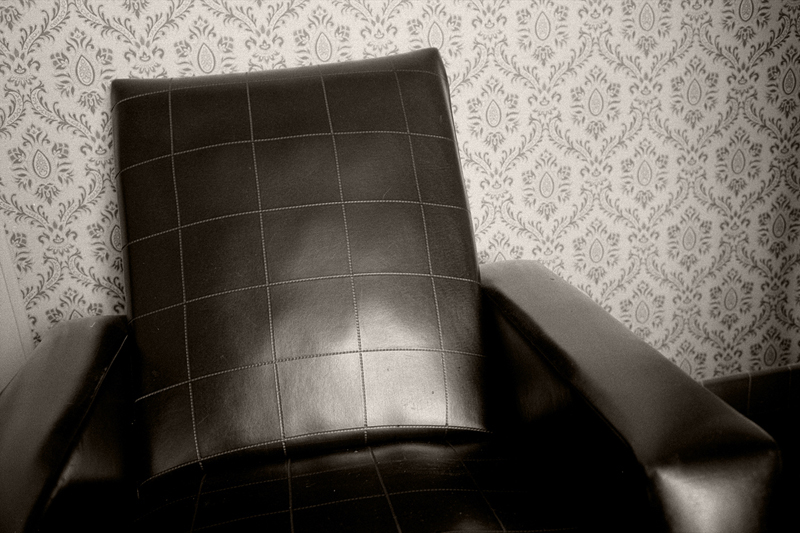 Big Black Chair