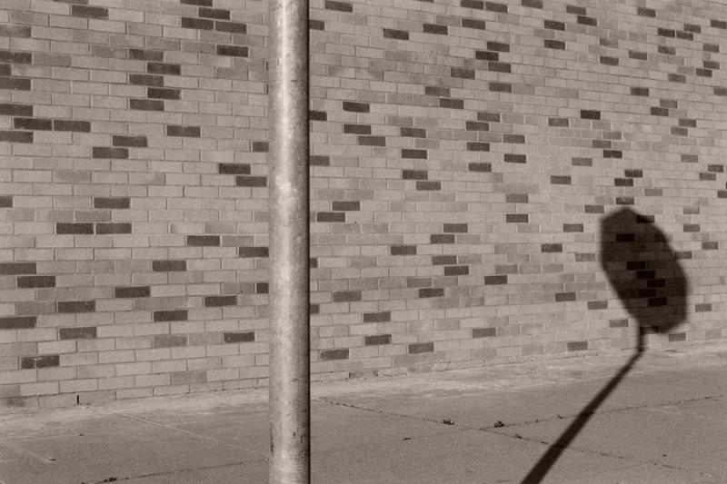 Stopsign and Brickwall