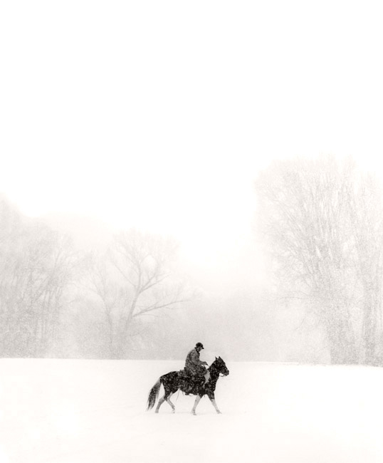 Michael Crouser, Sweetwater, CO (Rider in Snow)
