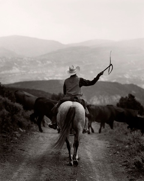 Michael Crouser, Burns, CO (RIder with Whip)