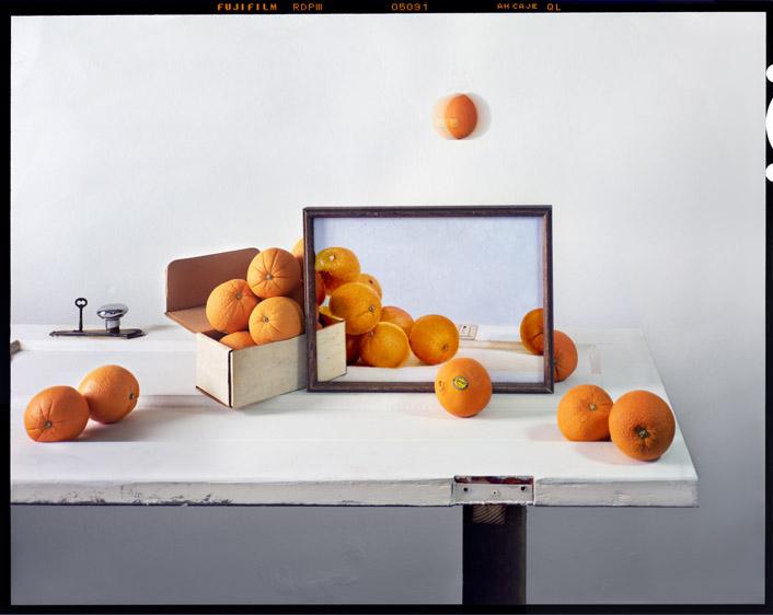 John Chervinsky, Oranges, archival pigment print