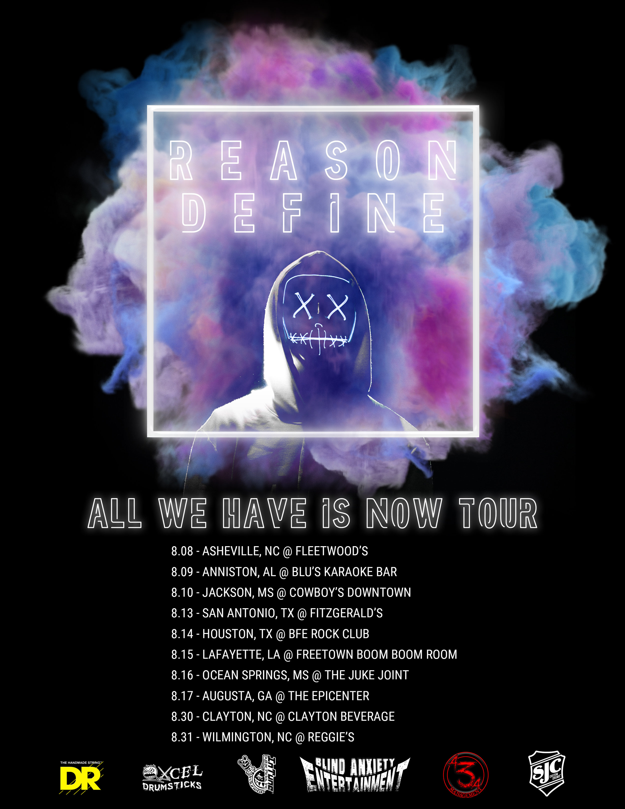 rd all we have is now tour poster
