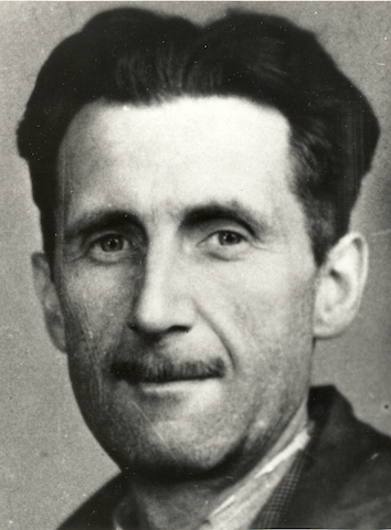 George Orwell. (Photo credit: http://ow.ly/MYFF30aYYvU)
