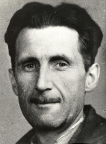 George Orwell. (Photo credit:http://ow.ly/MYFF30aYYvU)