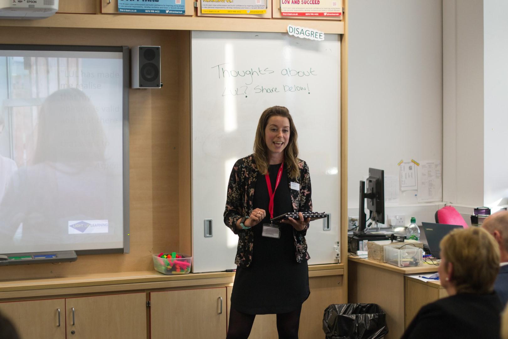 Hazel Moar, our incredible Lasswade liaison, speaks to the school's experience of the LUL programme