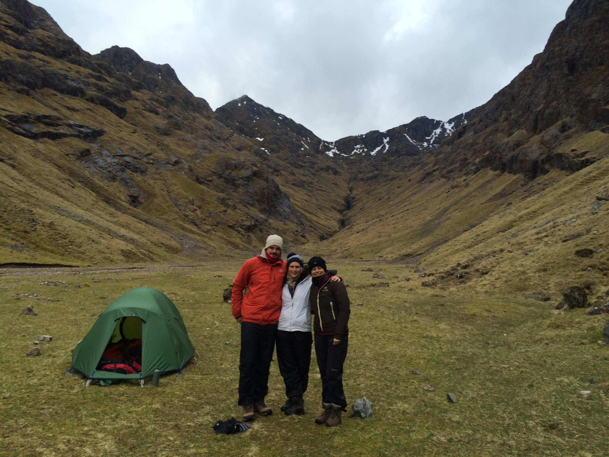 Lost Valley wild camp