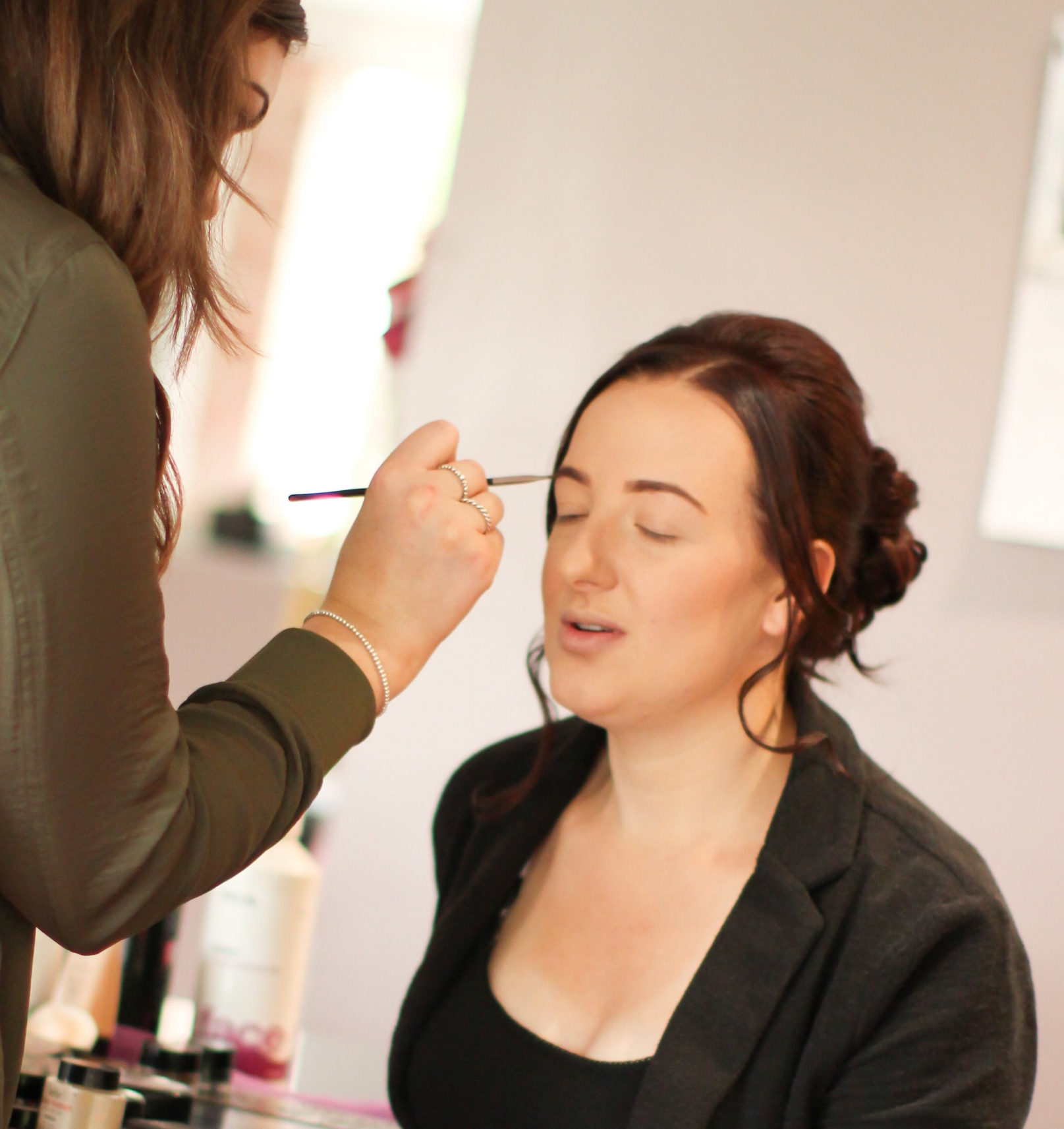 Nails and make-up by Jodie - Jodie's friendly and bubbly personality is infectious. I was lucky enough to have Jodie for my bridal make-up and have since shot a wedding with her as the make-up artist. She is a dream to work with and listens to your brief with great intent. You can guarantee your make-up will be flawless from day through to night with this lovely lady in your team!