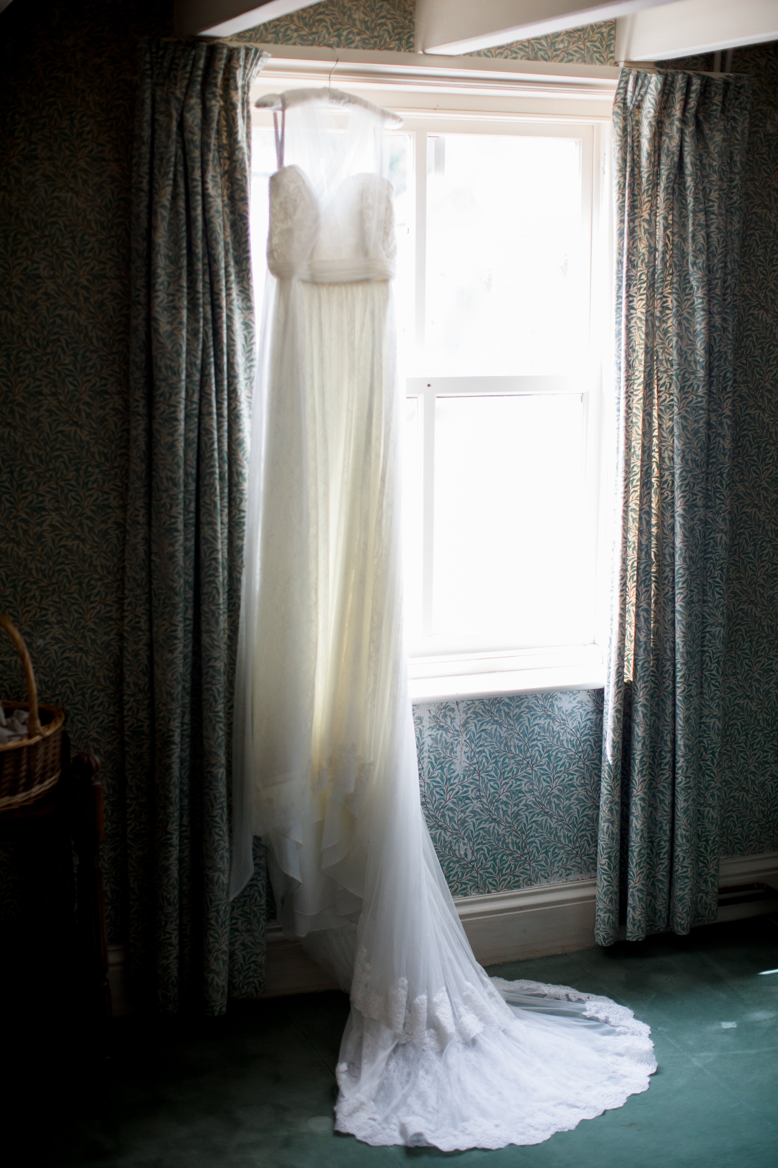 Wedding Photography_ william morris wallpaper _ bridal dress.jpg