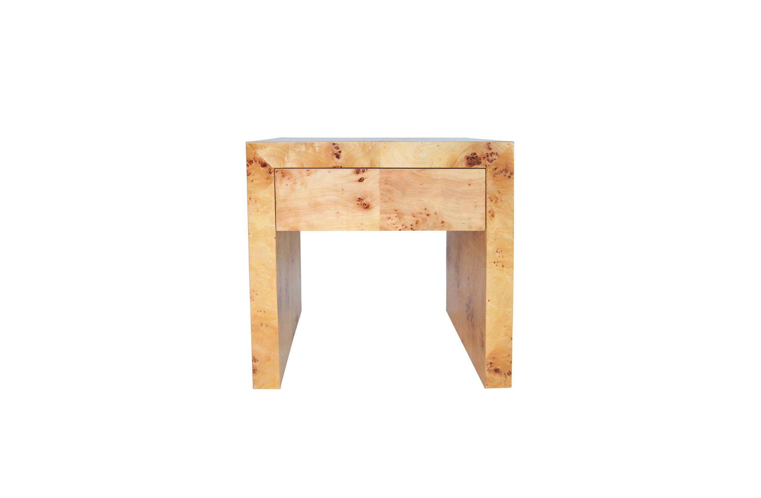 Chloé Burl End Table