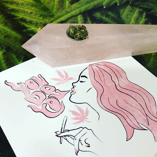 @shop.glassy now available @quincyermont! #womenofcannabis Shop small and support local! 💕💎