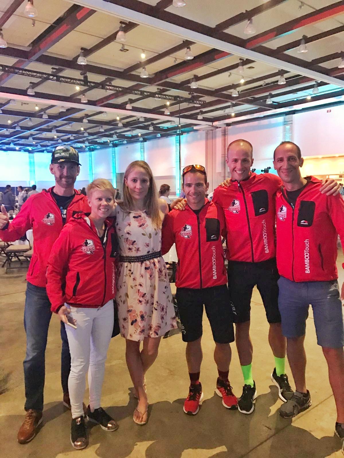 Coaching Zone team with the Ironman World Champion Daniela Ryf