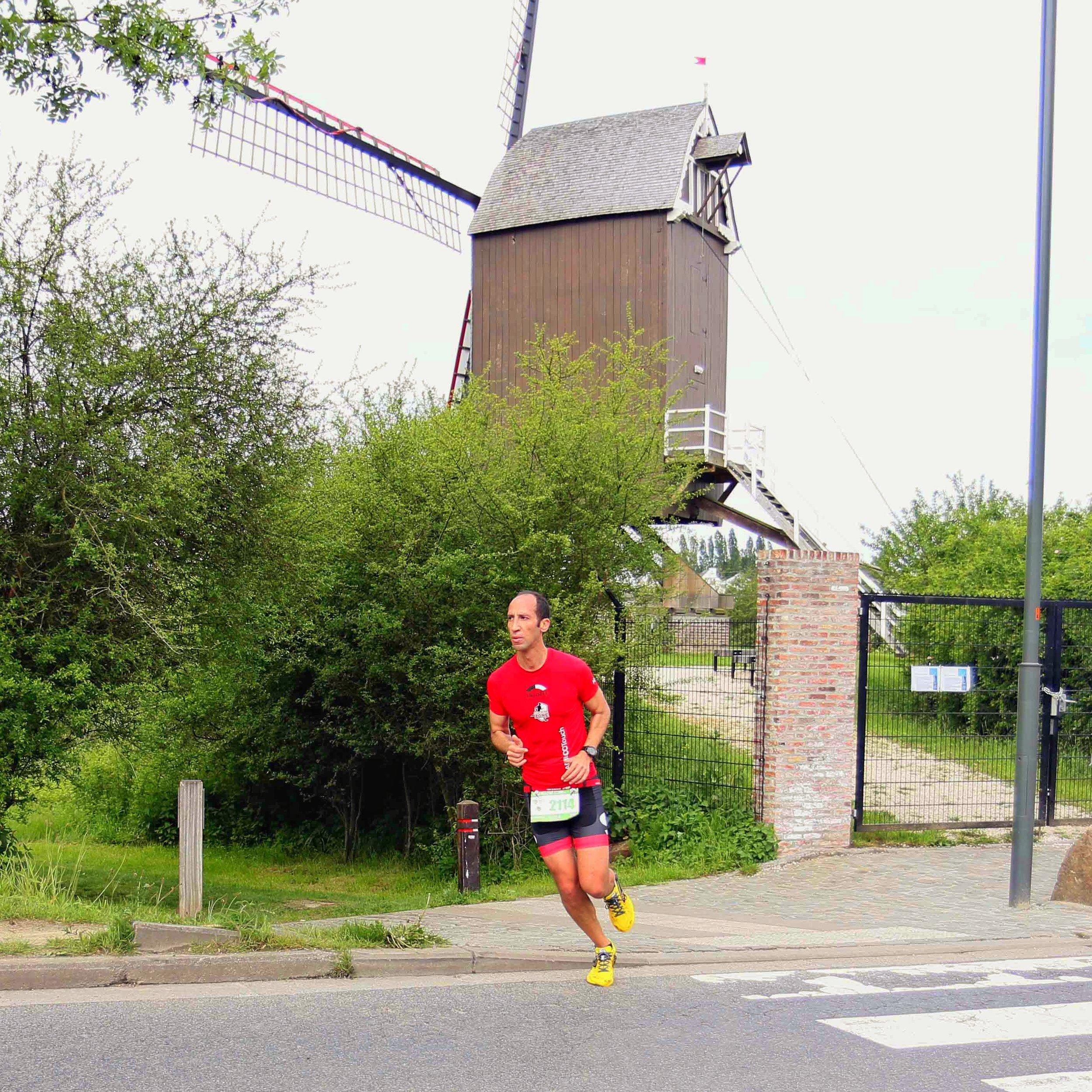 Windmill of Hof Ter Musschen - 12th km