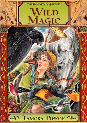 Tamora Pierce for an Unsual Fantasy Summer Book List