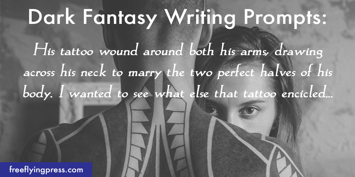 10 new dark fantasy romance writing prompts designed to ignite your imagination and get you writing!