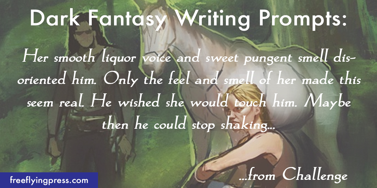 dark fantasy romance writing prompts from Ella Bandita and the Wanderer