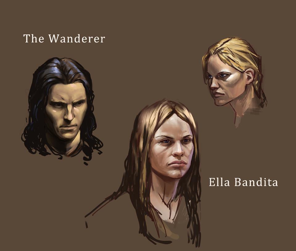 character sketch dark fantasy novel