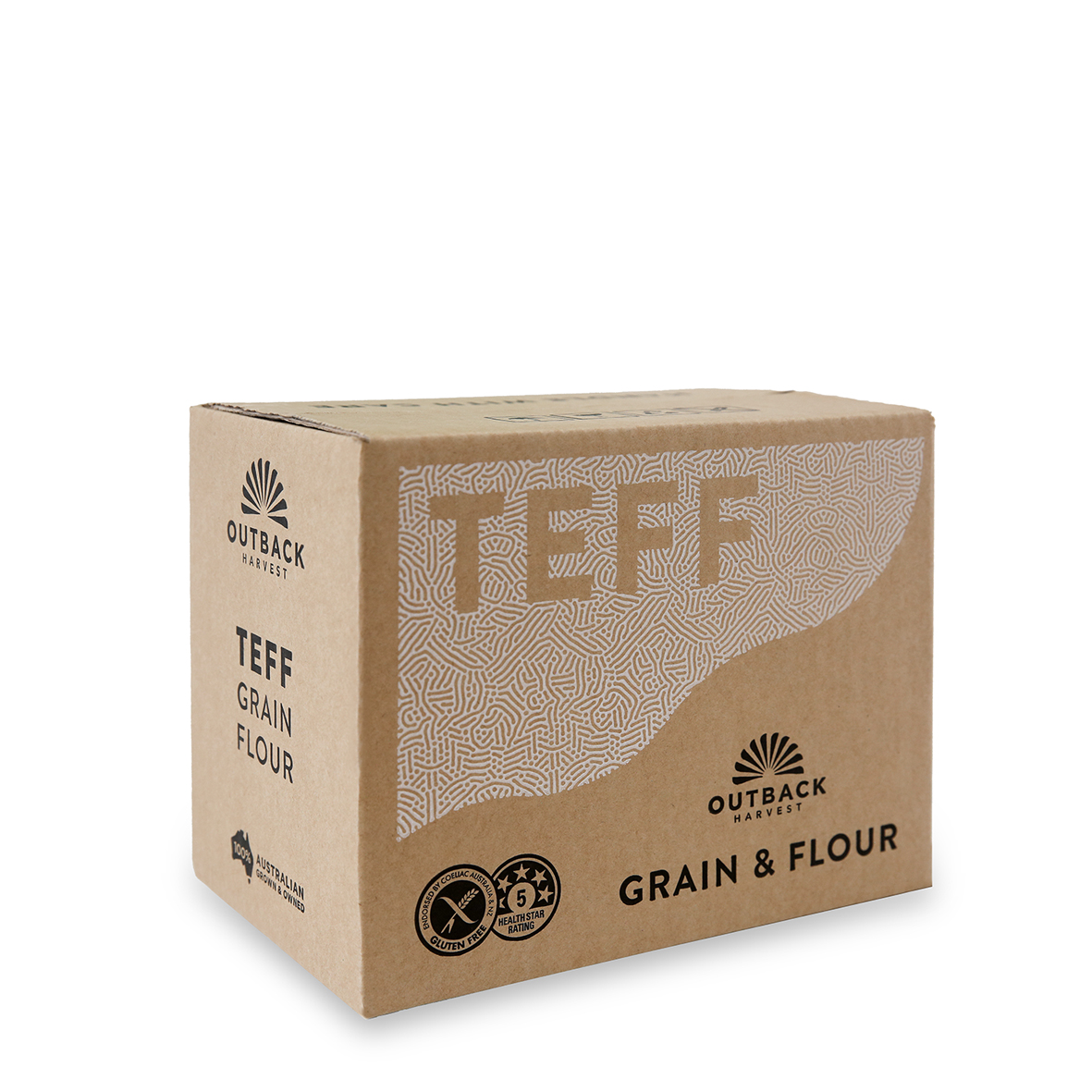 Outback Harvest Teff grain and flour