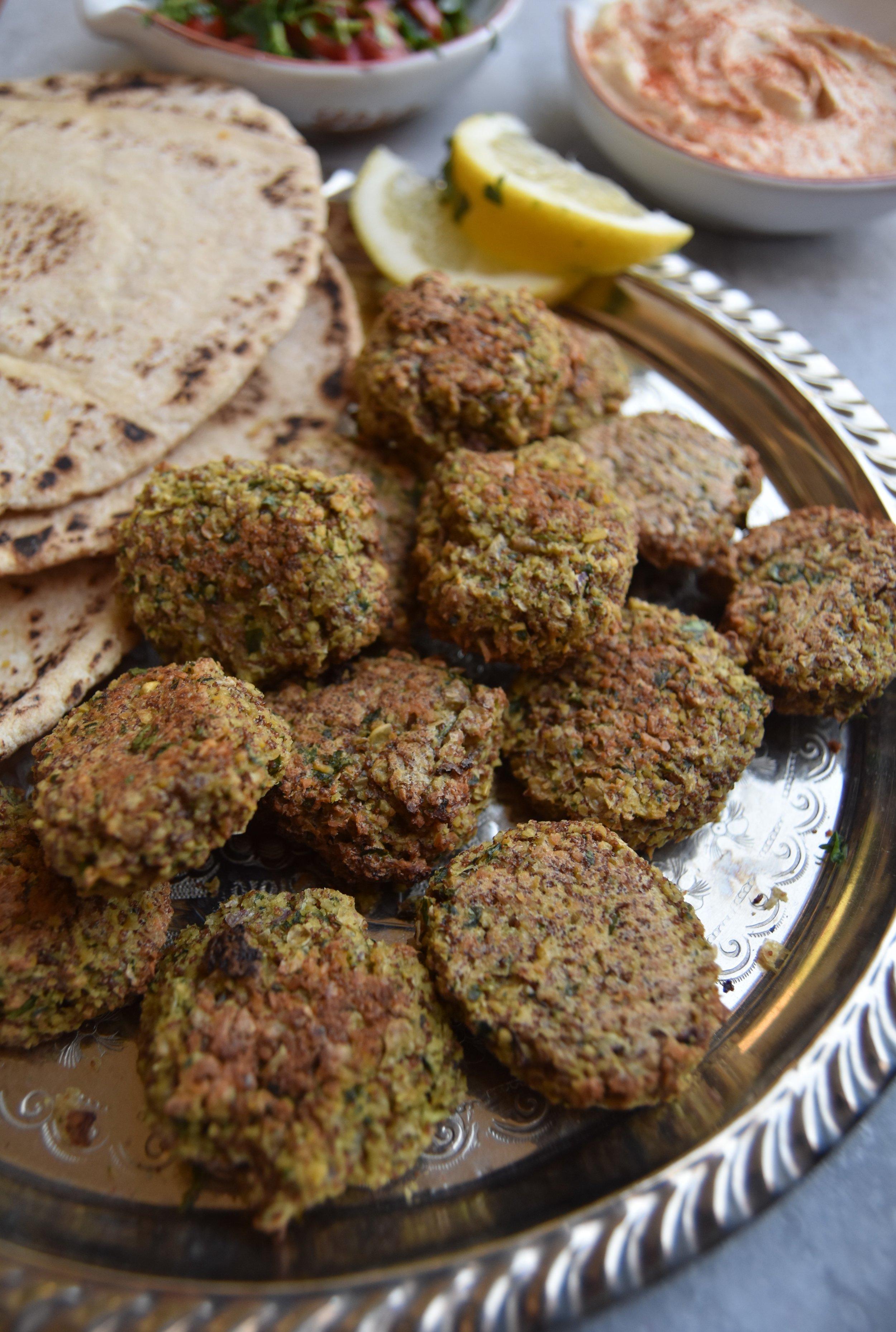 Vegan Teff Falafels by Sophie