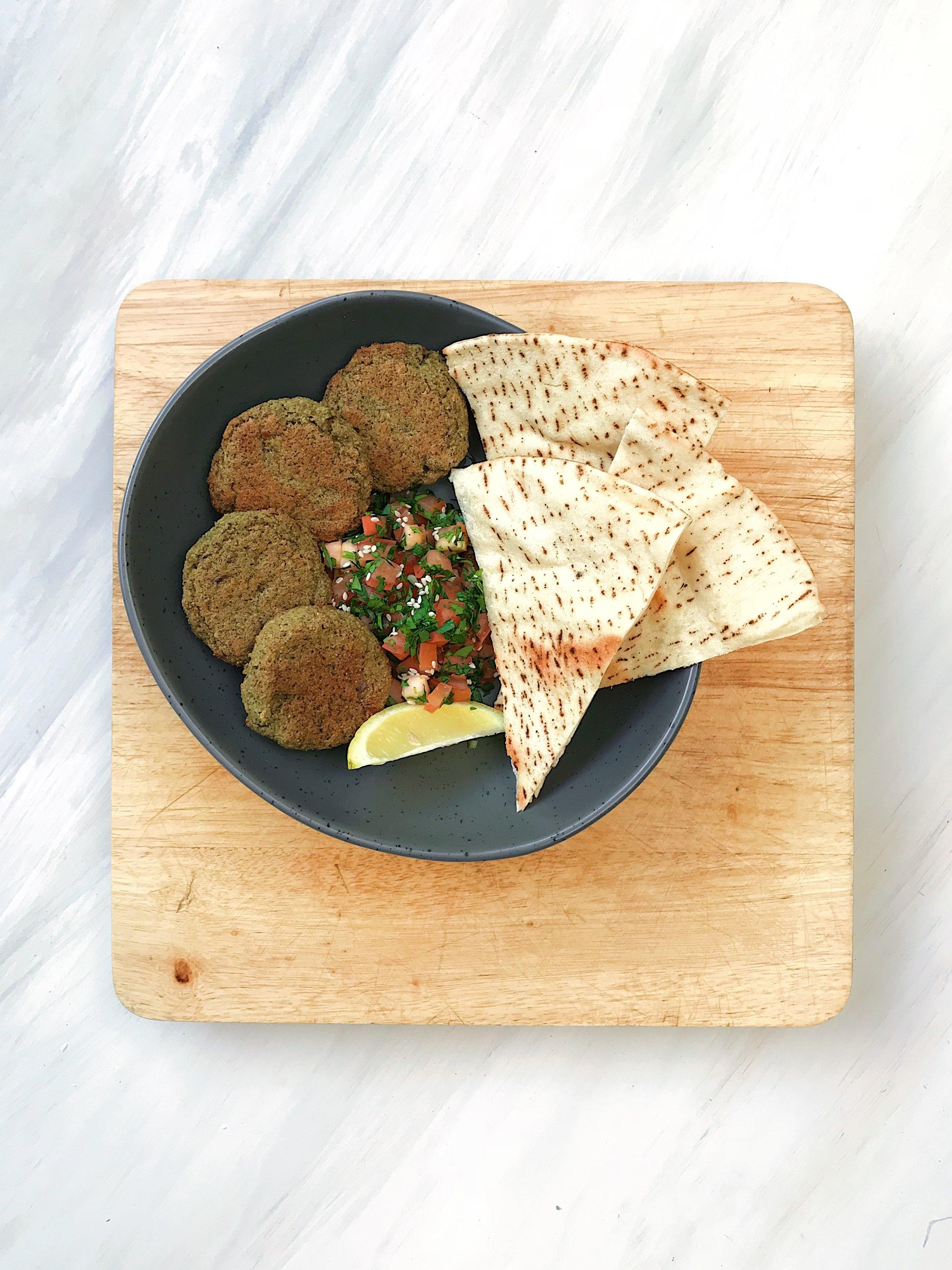 Vegan Teff Falafels by Outback Harvest