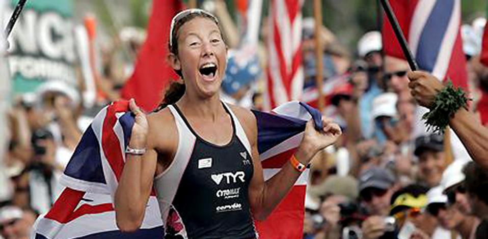 CHRISSIE WELLINGTON   Four time  World Ironman Champion:  2007, 2008, 2009, 2011