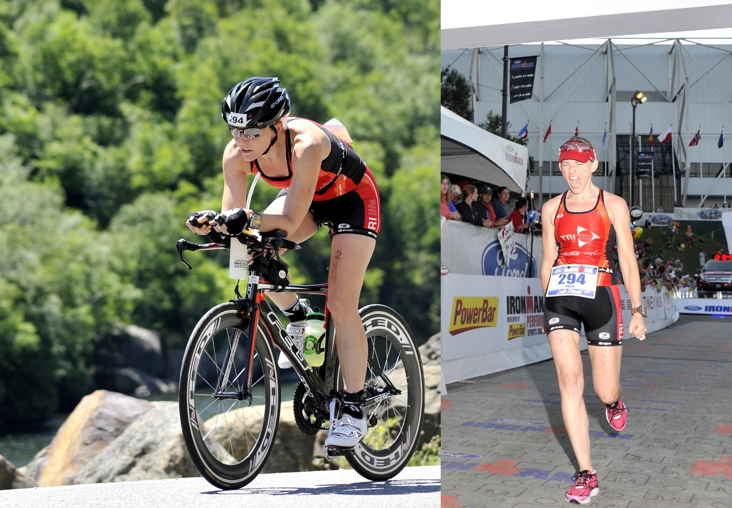 JULES L.  Ironman Triathlete, Ultra Marathoner, Creative Director, Mom x 2