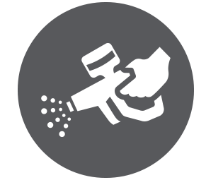 pressure washing icon