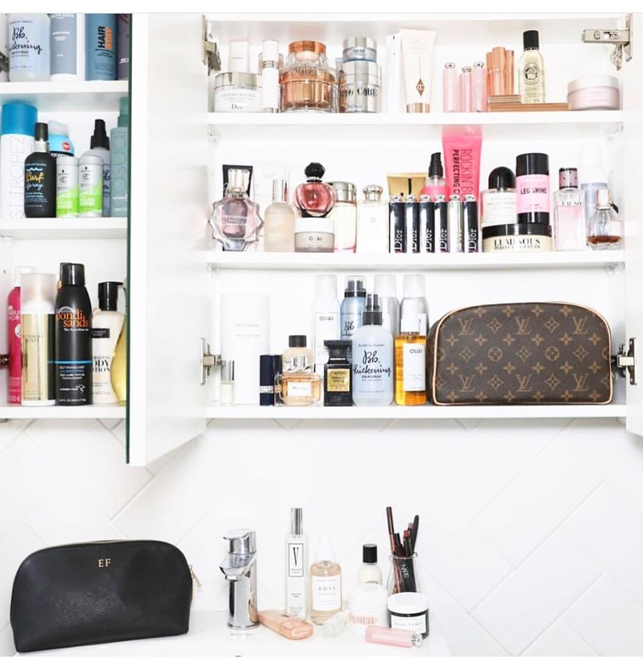 Pic Via @The_File Featuring @Elle_Ferguson beauty cupboard