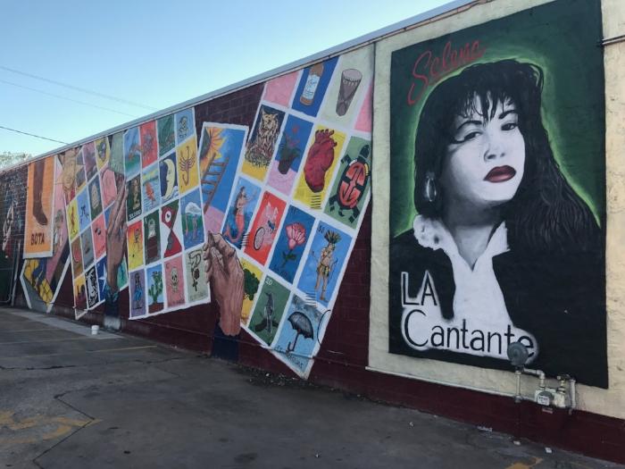 """La Loteria"" mural in downtown Austin. Photo by Alyssa Ramos."