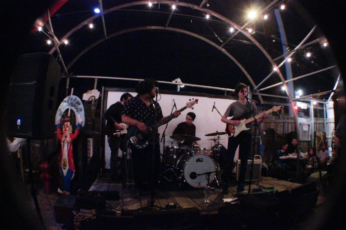 Photo by Kassidy Curry at the Venus Launch Party 3/3 at Spiderhouse Cafe.