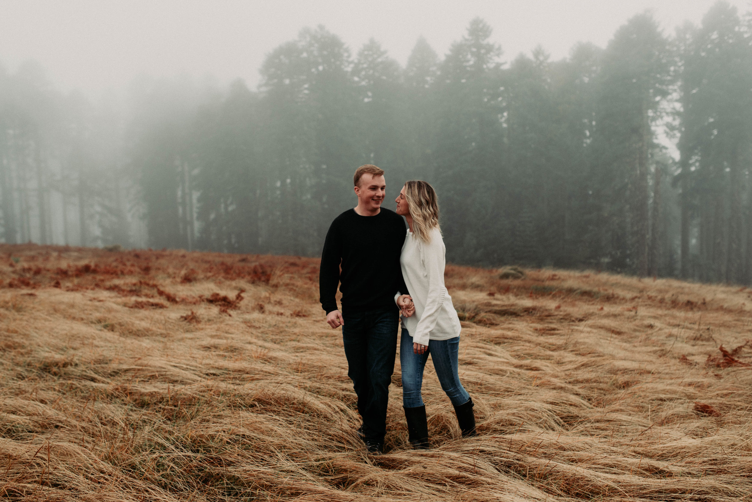 Foggy Mountain Top Engagements -