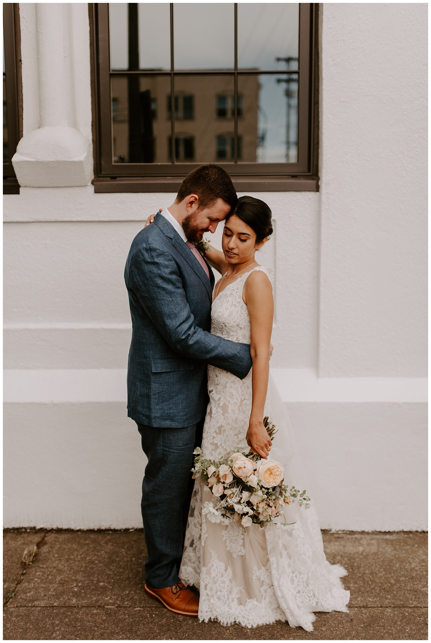 Portland Rooftop Wedding - Eastside Exchange Forest Park Bridals - Jessicaheronimages.com