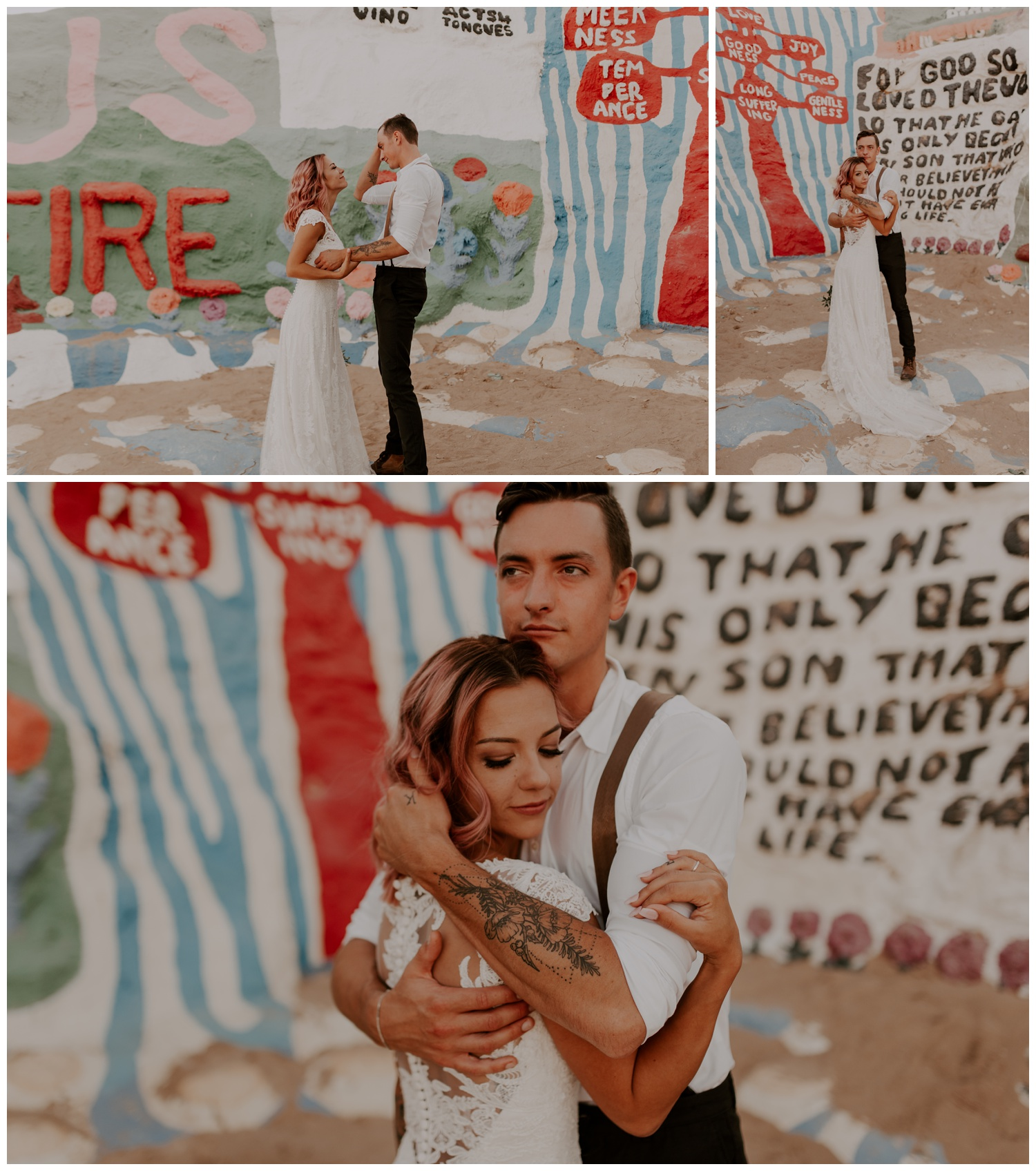Salvation Mountain Elopement Palm Springs Pink Hair Bride - Jessica Heron Images_0121.jpg