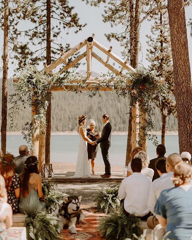 Surrounded by their closest people(and dog) as they vowed to love each other forever ❤️ love this group and this entire day!! • • • ➖➖➖➖➖➖➖➖➖➖➖➖ • • • •  #heyheyhellomay #fpme #authenticlovemag #olympicpeninsulaphotographer #couplesphotography #loveintentional #bendwedding #montanaphotographer  #elopementphotographer #washingtonphotographer #intimatewedding #adventurouswedding #justalittleloveinspo #easternoregonwedding  #radlovestories #oregonwedding #oregonphotographer  #elopementlove #firstandlasts #sistersoregon #indiebride #adventurebrides #elklake #destinationweddingphotographer  @justalittleloveinspo @elopementlove @dirtybootsandmessyhair @brides