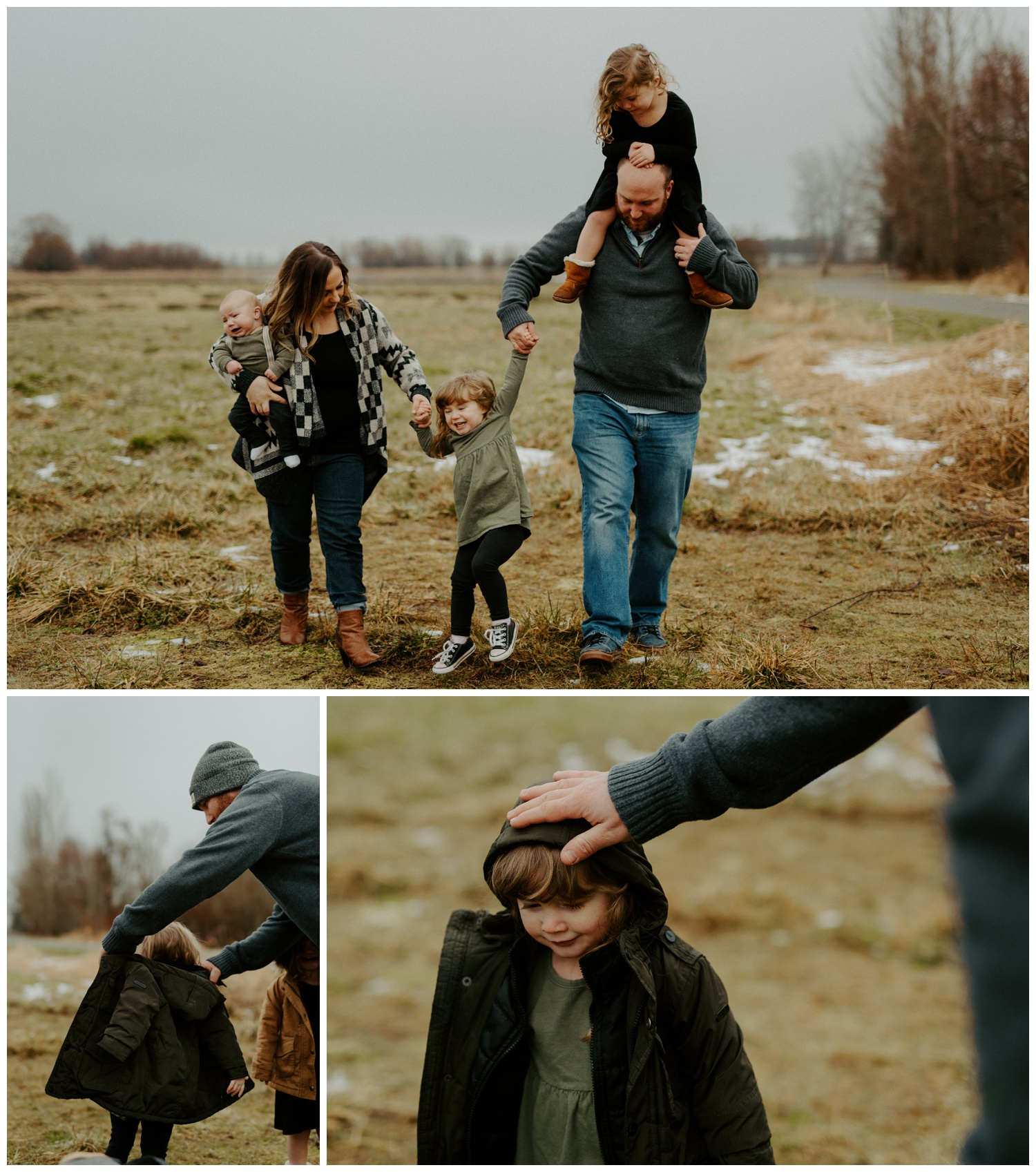 Olympia Washington Family photos in a foggy field | Jessica Heron Images | jessicaheronimages.com 007.JPG