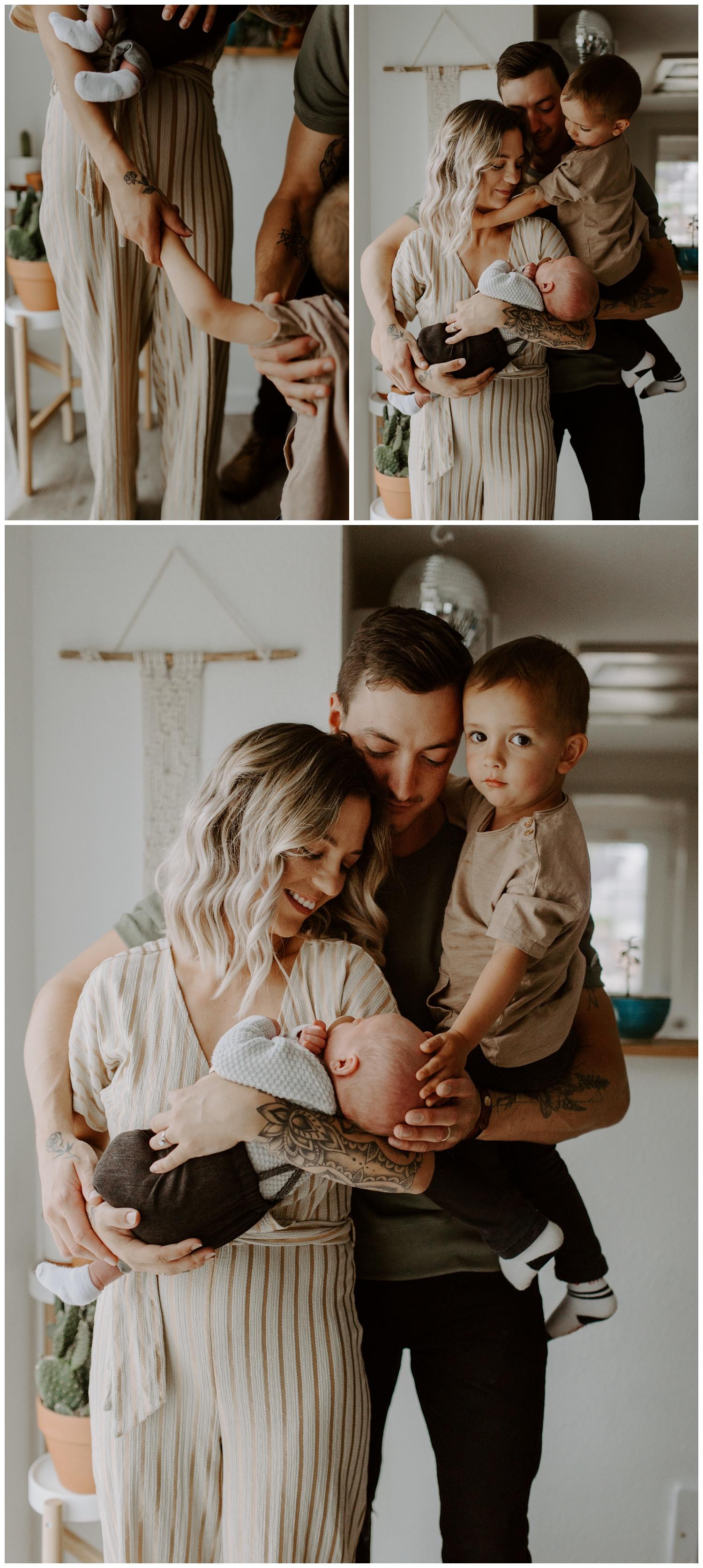 In Home newbordn Session | Washington Lifestyle Family Photographer Jessica Heron Images | jessicaheronimages.com | Newborns with siblingE.JPG