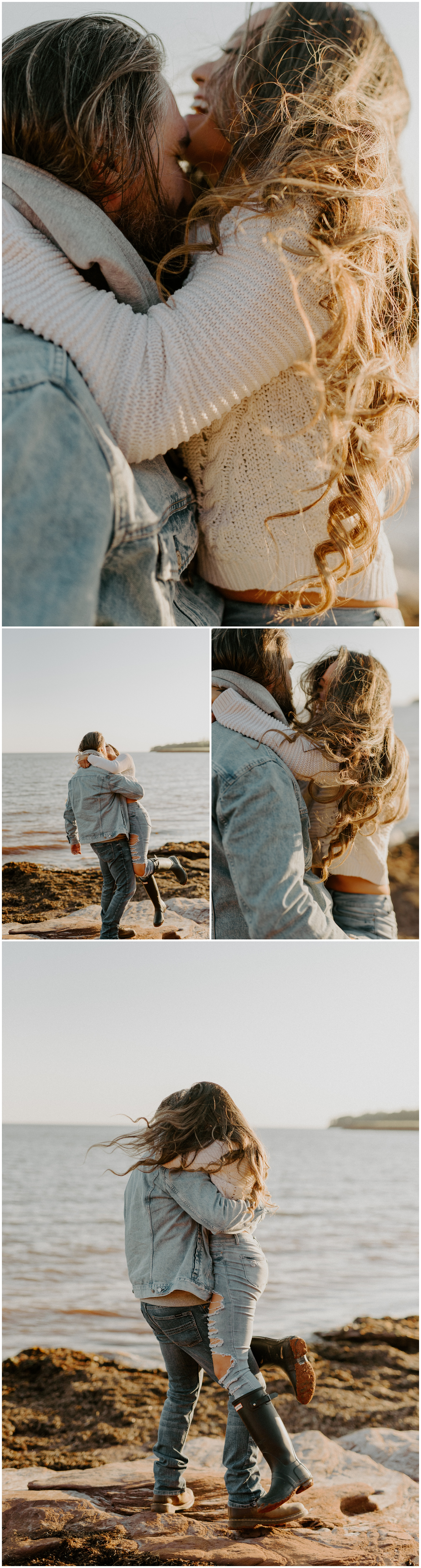 Red Sand Beach Engagements On Prince Edward Island at Sunset | Jessica Heron Images_0002.jpg