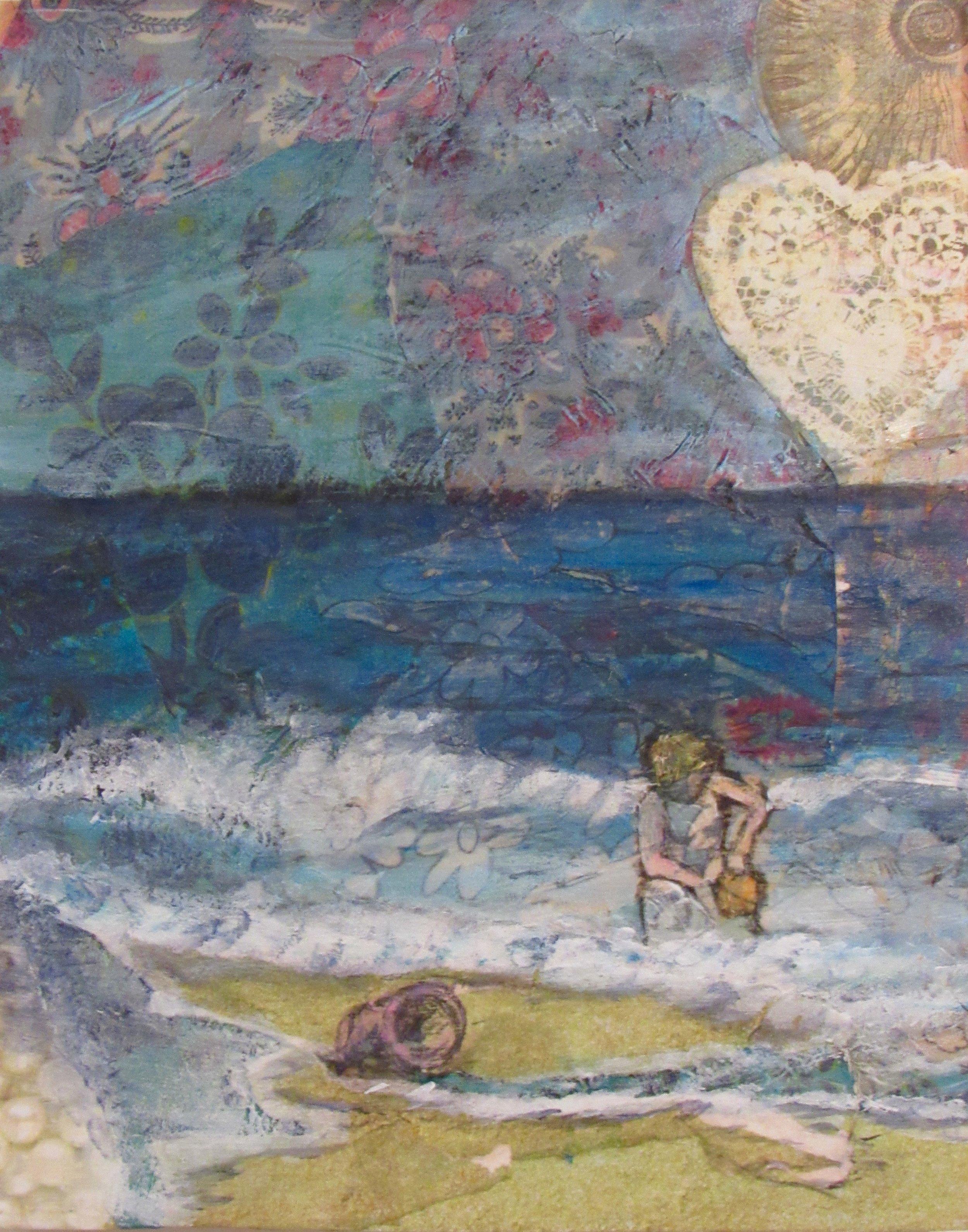 A bucket full of the ocean's love