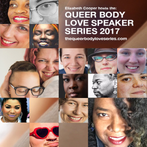 Facebook Live - As a kick off to the 72hr replay of the Queer Body Love Series 2017, Elizabeth & I chat about pleasure, joy and self-care for/during the resistance. (the video accidentally ended early, so here's last little ending clip)