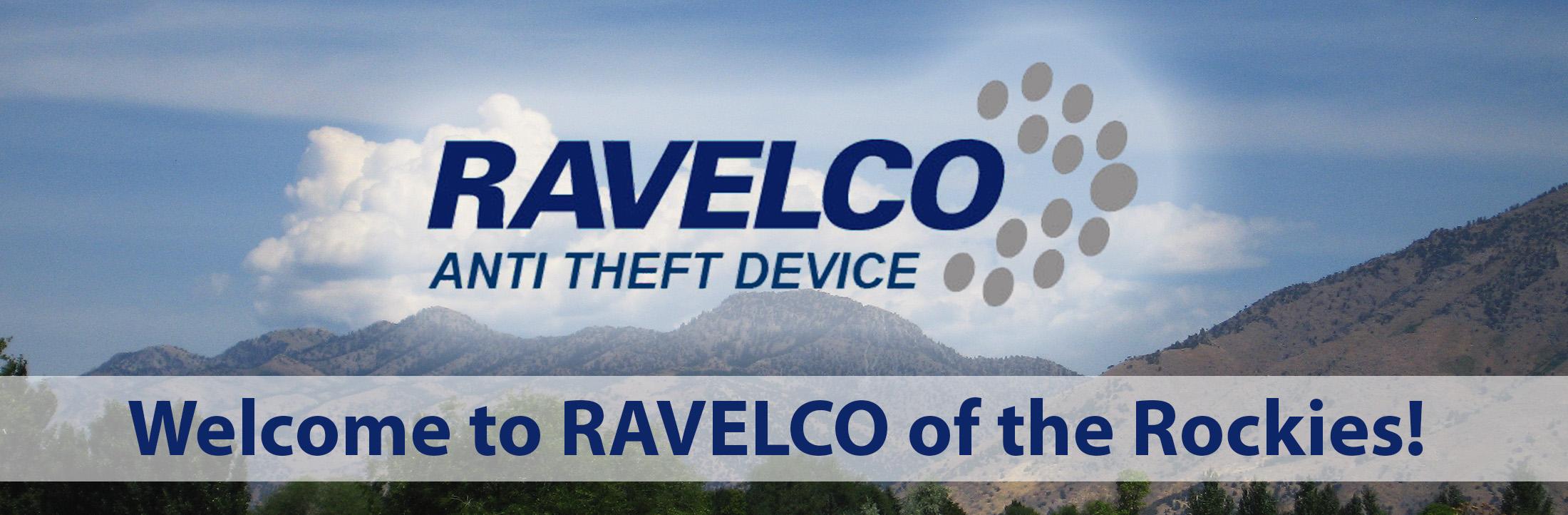 Ravelco anti theft device logo