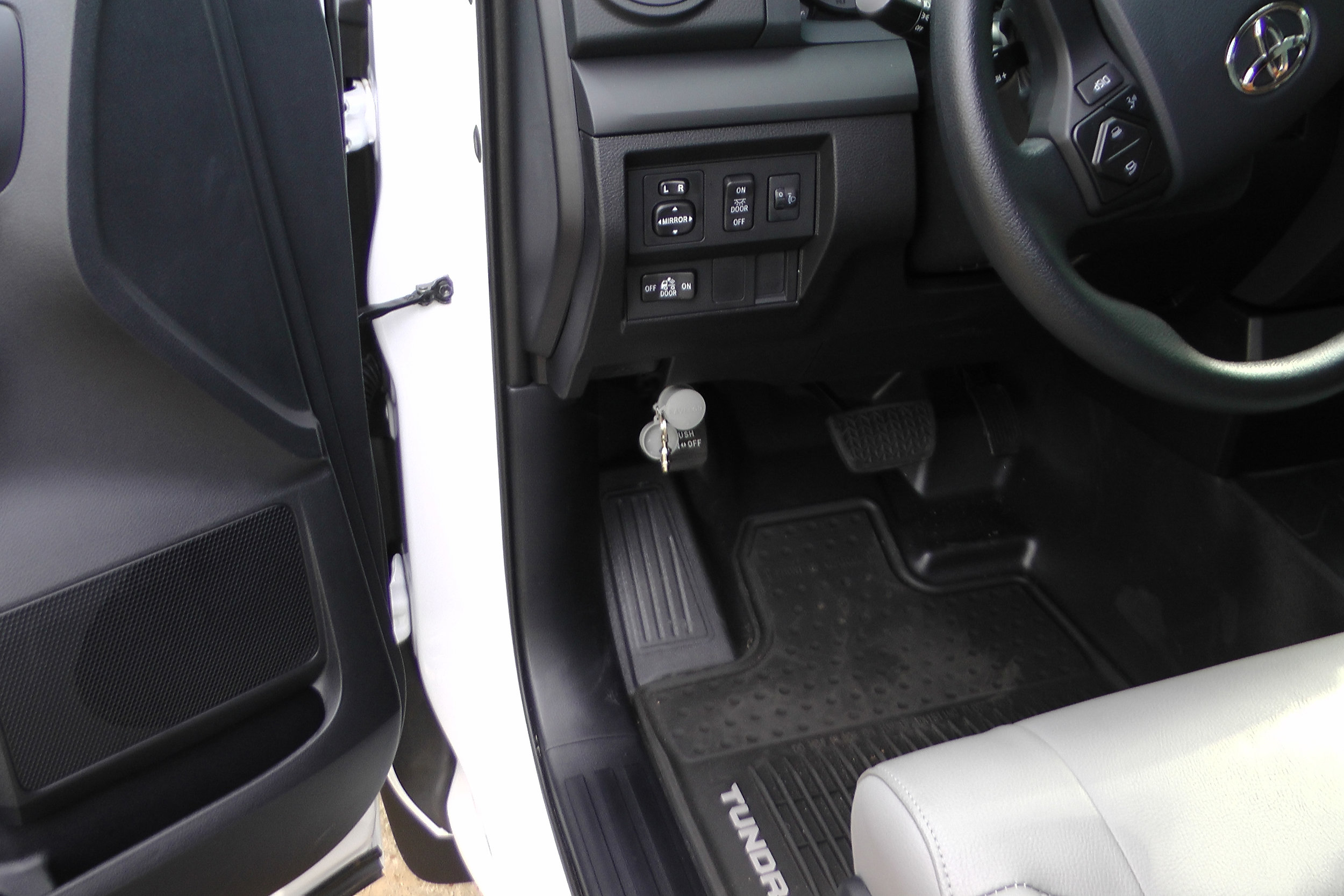 Copy of Installed Ravelco anti theft device