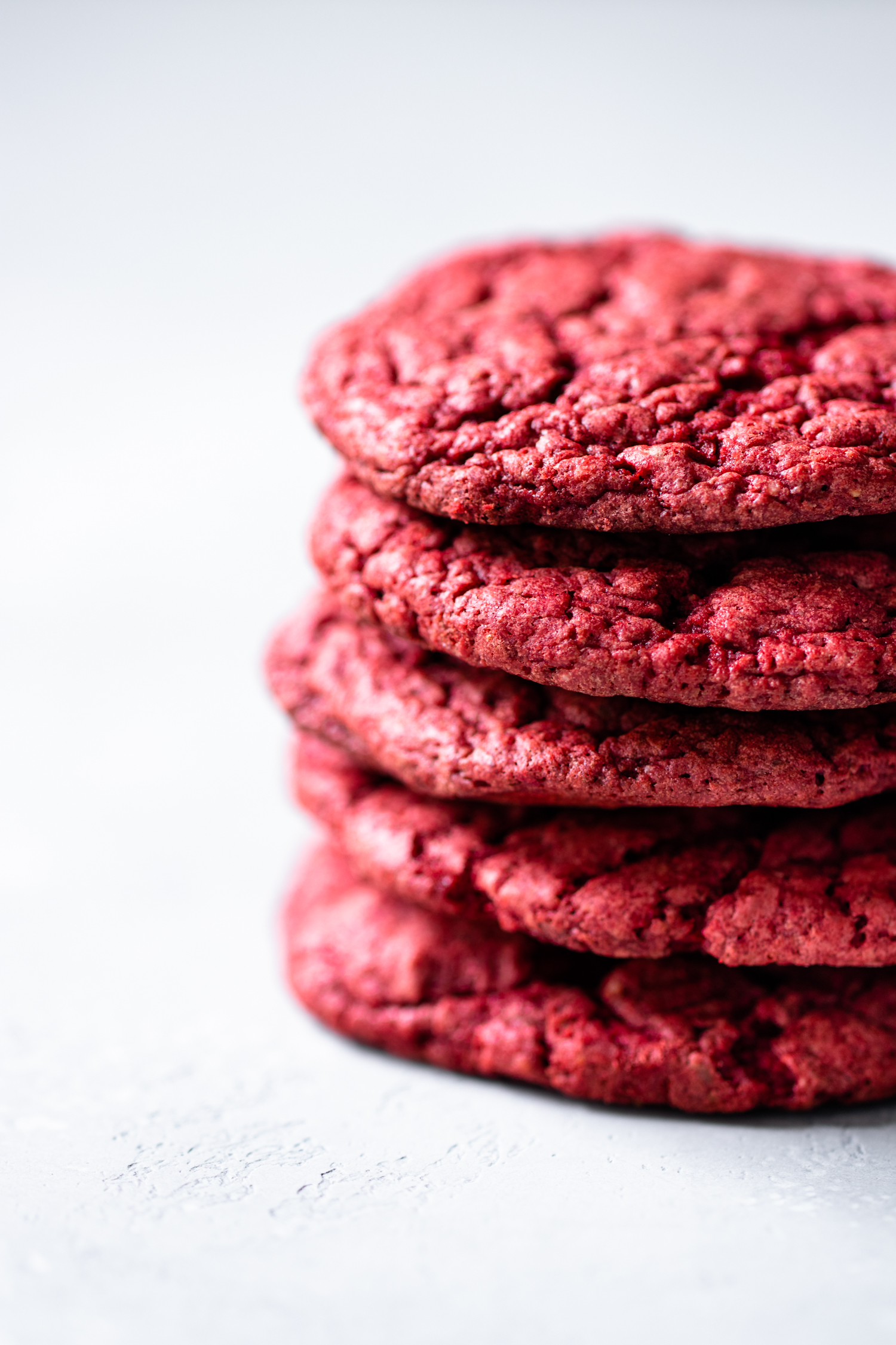 5-Ingredient Red Velvet Cookies