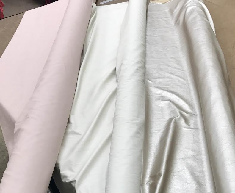 Beautiful pastel faux leather.